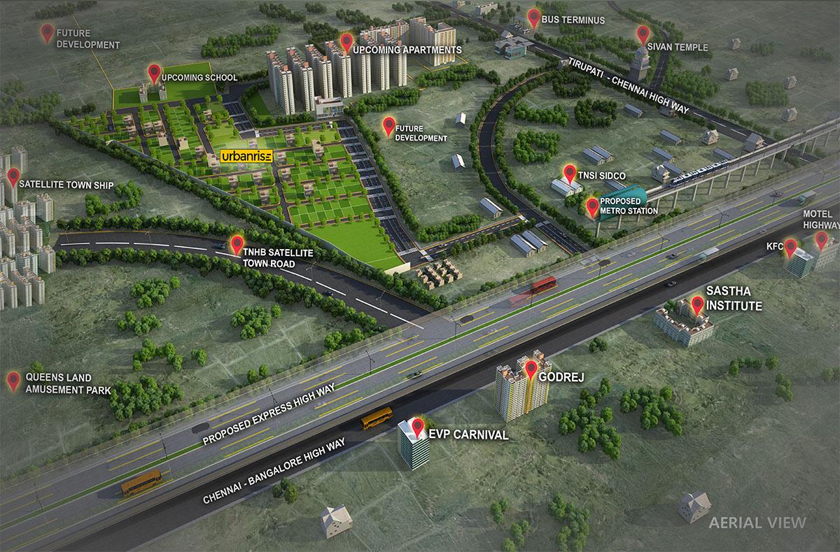 Thirumazhisai plots Location Advantages